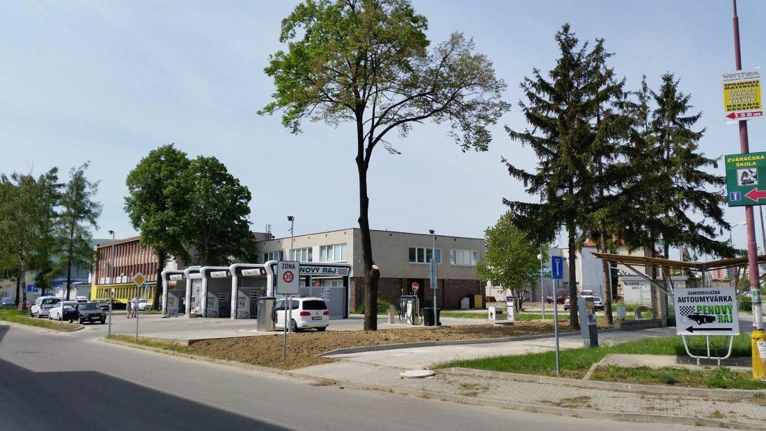 Penový raj - Samoobslužná autoumyváreň- Nové mesto nad Váhom