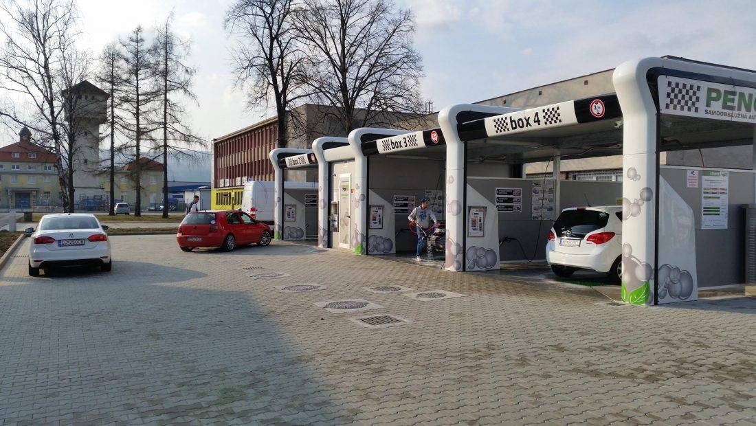 Penový raj - Samoobslužná autoumyváreň - Nové mesto nad Váhom