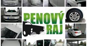 Penový raj - Samoobslužná autoumyváreň